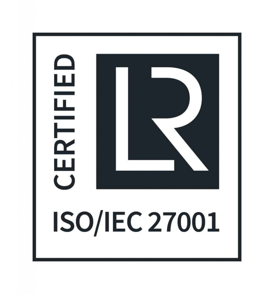 Binocs ISO 27001 certification