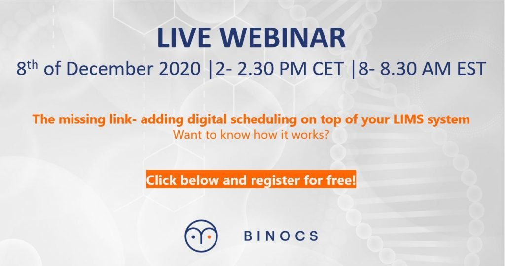 The missing link: webinar at Binocs Academy