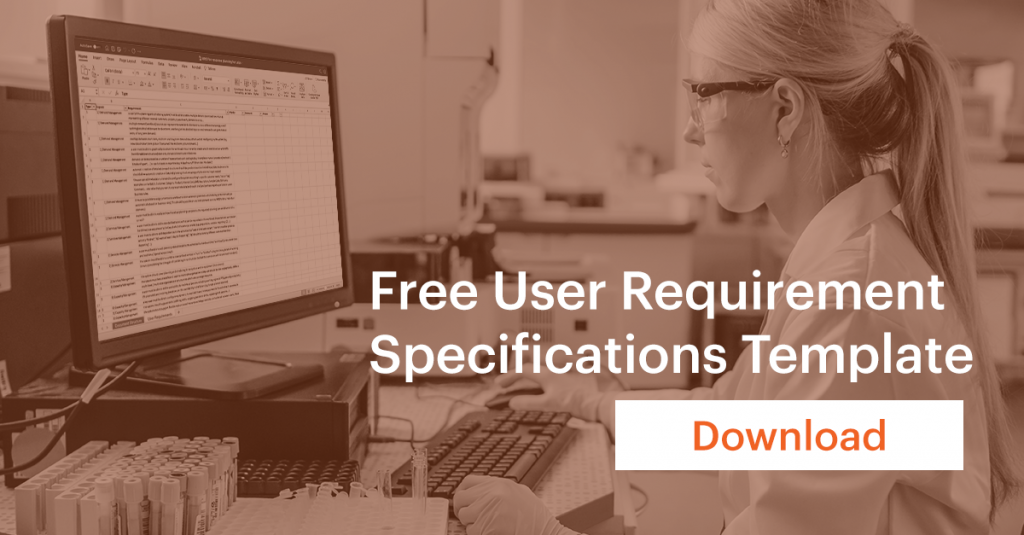 Free User Requirement Specifications Template / URS template resource planning software